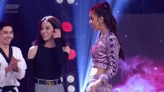 Giám khảo Diệp Lâm Anh và Minh Tú khoe vũ đạo   HTV ĐẤU TRƯỜNG VÕ NHẠC   DTVN #4 TRAILER