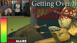 Getting Over It No Emotions Challenge! - Easy Update