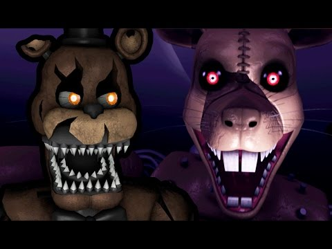 nightmare freddy plays five nights at candy s 3 night 1 you