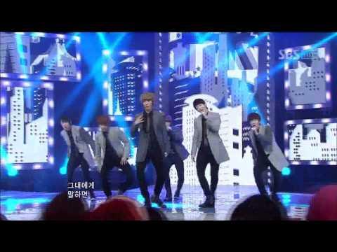 Boyfriend -I'll be there (보이프렌드 - 내가 갈게) @SBS Inkigayo 인기가요 20120101