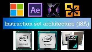 Texplained: What is x86..??What is an Instruction Set Architecture..??32-Bit vs. 64-Bit