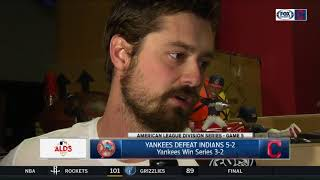 Indians' Andrew Miller thinks Yankees can do a lot of damage in ALCS | ALDS GAME 5