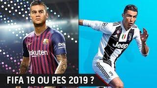 Vidéo-Test : PES 2019 ou FIFA 19 ? LE COMPARATIF FINAL, quel est le meilleur jeu ?!