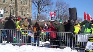 Maxime Bernier addresses the Yellow Vest protest on Parliament Hill