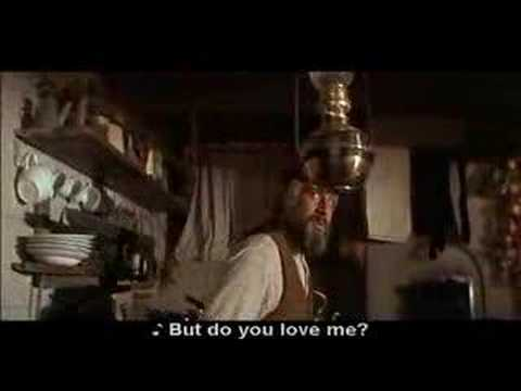 Fiddler On The Roof Do You Love Me With Subtitles