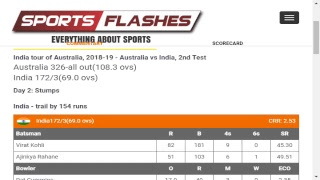 Live: Australia vs India 2nd Test #Cricket Match Commentary from Stadium in English | #SportsFlashes