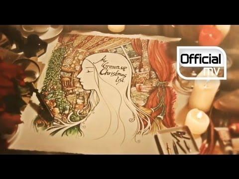 Ailee(에일리) _ My Grown Up Christmas List MV