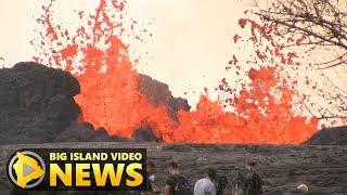 Hawaii Volcano Eruption Update - Saturday Afternoon (May 26, 2018)