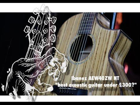 Ibanez AEW40ZW Electro Acoustic Cutaway Guitar