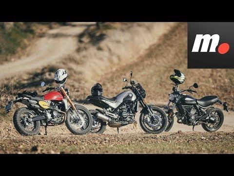Comparativo Scrambler 400-500cc / Prueba / Preview en español