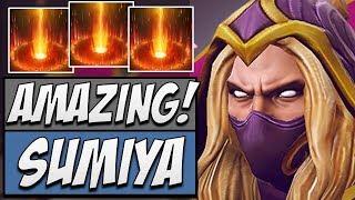 Sumiya Invoker - Amazing TOP 1 Dotabuff   Dota Gameplay