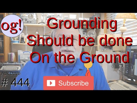 Grounding should be done on the Ground (#444)