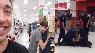 Public DISTURBANCE: Hugging strangers SOCIAL EXPERIMENT