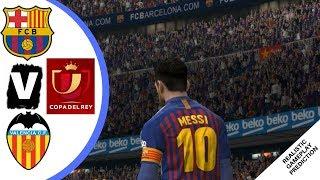 Barcelona vs Valencia - Highlights & Goals / Resumen | FINAL Copa del Rey 2019