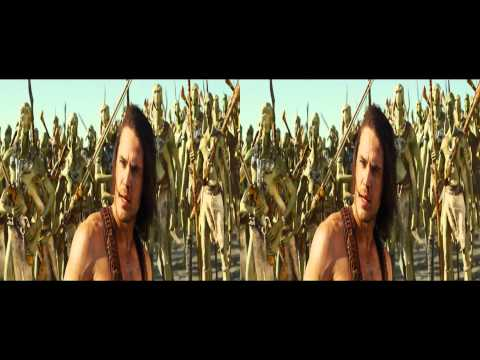 John Carter 3D trailer in 3D