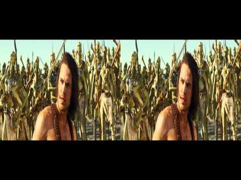 John Carter 3D trailer in 3D