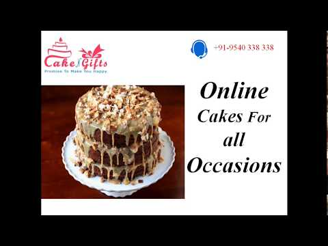 Cake Delivery Services of CakenGifts in Delhi
