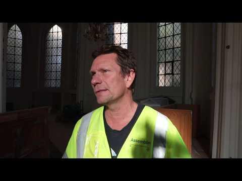 S:t Petri kyrkas historia vilar under golvet