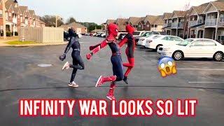 """Ghetto Avengers"" Dj Casper  Cha Cha Slide | @ghetto.spider @ghetto.panther @ghetto.deadpool |"