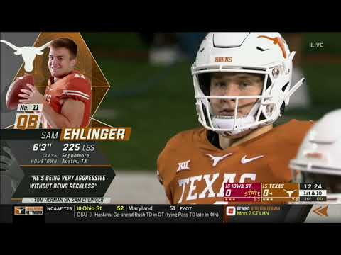 2018 - Game 11 - #15 Texas vs. #16 Iowa State