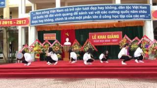 Nhảy : Sẻ chia từng khoảnh khắc - Trường THCS Lê Văn Thiêm - Khai giảng năm học 2016 - 2017
