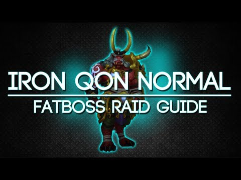 Iron Qon 10 Man Normal Throne of Thunder Guide - FATBOSS