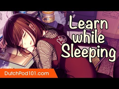 Learn Dutch While Sleeping 8 Hours - Must Know Sleeping Home Interior Phrases photo