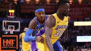 Los Angeles Lakers vs Oklahoma City Thunder Full Game Highlights / Jan 17 / 2017-18 NBA Season