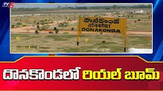 Land prices have more than doubled in Donakonda..
