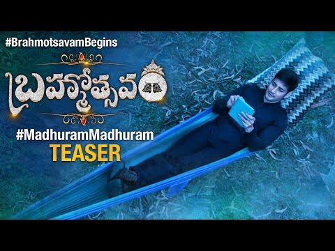 Brahmotsavam-Song-Teaser