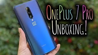 OnePlus 7 Pro Unboxing! First Thoughts - Tech With Shannon Morse