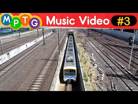 Melbourne's Metro Trains and V/Line Trains (Music Video #3)