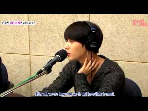 [ENG SUB]131029 YooInNa's volume up - Does Taemin meet Naeun out of WGM?