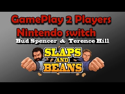 GamePlay 2 Players Slaps and Beans Nintendo Switch