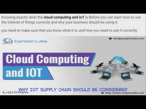 Why IoT supply chain should be considered