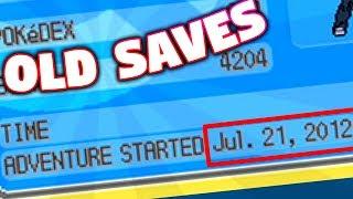 Exploring OLD Pokemon Game Saves! (5 Years+ Old!)