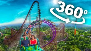 VR 360 Roller Coaster VR Video 360 4K [Samsung Gear 360 4K] Virtual Reality Videos 360 VR 4K