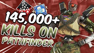 Meet The #1 Pathfinder In Apex Legends On All Platforms (145,000+ Kills)