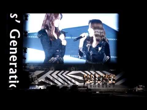 (Fancam)120818 SNSD introduction (SM Town in Seoul)