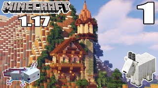 1.17 Minecraft Let's Play   A Great Beginning!   Episode 1