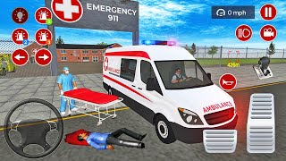 US Ambulance Driving Simulator 2021 - Emergency Van Rescue Driver #2 - Android Gameplay