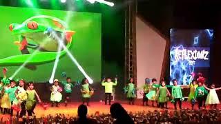 Arav dancing in crazy frog