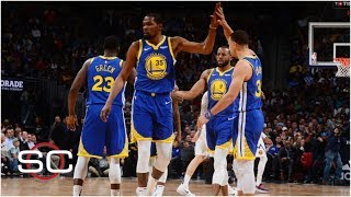 Warriors' blowout of Nuggets sent a message to rest of the NBA | SportsCenter