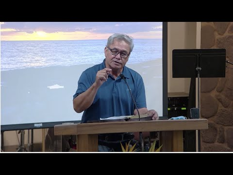 25 August 21 Calvary Chapel West Oahu's Midweek Study in Acts 4 with Pastor Tau Sooto