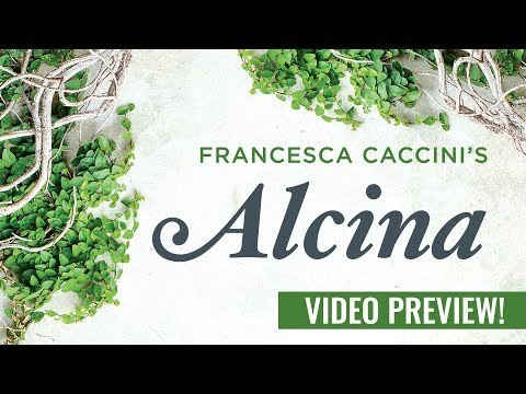 Go behind the scenes with the GRAMMY Award-winning BEMF Chamber Opera Series and their new production of the first opera by a woman composer, Francesca Caccini's 1625 masterpiece, Alcina. Enjoy this splendid musical feast on Thanksgiving weekend, November 24 & 25 in Boston and November 26 & 27 in New York City.