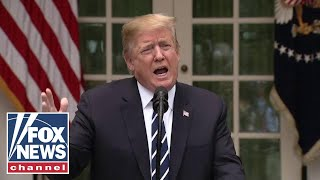 Trump holds surprise press conference, lashes out at Pelosi, Schumer