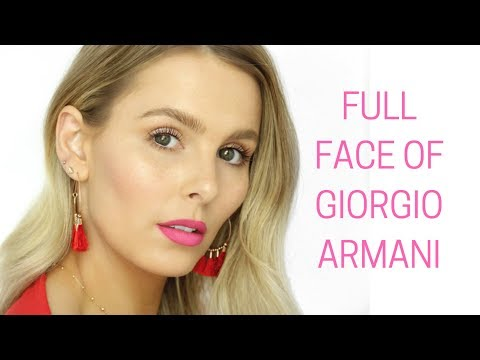 FULL FACE OF GIORGIO ARMANI BEAUTY | RACHAEL BROOK