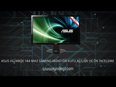 video Asus VG248QE Gaming Monitör
