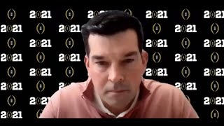 Ryan Day discusses matchup with Alabama in the national championship game