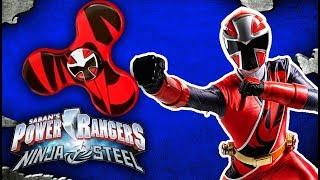Power Rangers Ninja Steel Fidget Spinner